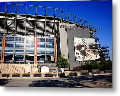 Philadelphia Eagles - Lincoln Financial Field Metal Print by Frank Romeo