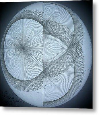 Photon Double Slit Test Metal Print by Jason Padgett