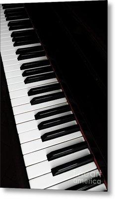 Piano Metal Print by Jelena Jovanovic