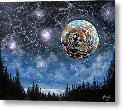 Planet X Niburu Metal Print by Jim Bowers