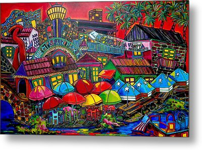 Playing Tourist Metal Print by Patti Schermerhorn
