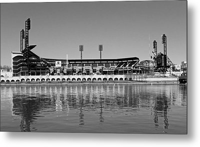 Pnc Park - Home Of The Pittsburgh Pirates Metal Print by Mountain Dreams