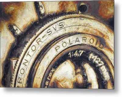 Polaroid Pathfinder  Metal Print by Scott Norris