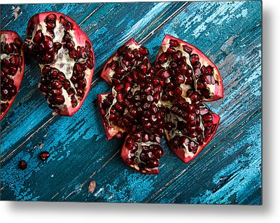 Pomegranate Metal Print by Nailia Schwarz