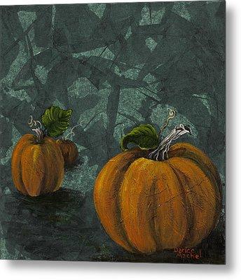 Pumpkin Patch Metal Print by Darice Machel McGuire