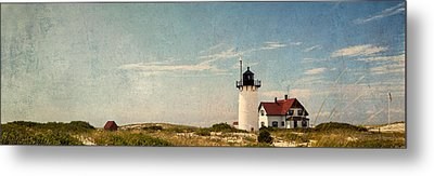 Race Point Light Metal Print by Bill Wakeley