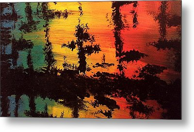 Reflections Metal Print by Lisa Williams