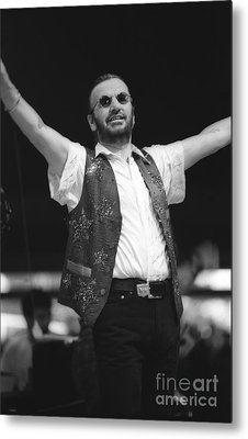 Ringo Starr And His All Starr Band Metal Print by Concert Photos