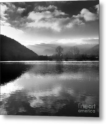 Romantic Lake Metal Print by Bernard Jaubert