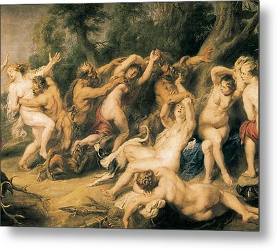 Rubens, Peter Paul 1577-1640. Diana Metal Print by Everett