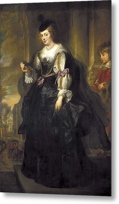 Rubens, Peter Paul 1577-1640. Helena Metal Print by Everett