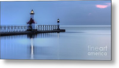 Saint Joseph Michigan Lighthouse Metal Print by Twenty Two North Photography