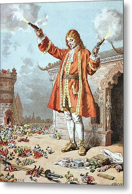 Scene From Gullivers Travels Metal Print by Frederic Lix