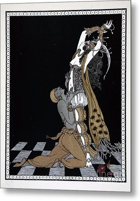 Scheherazade Metal Print by Georges Barbier