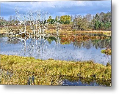 Seasons End Metal Print by Frozen in Time Fine Art Photography