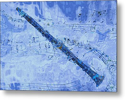 See The Sound 2 Metal Print by Jack Zulli