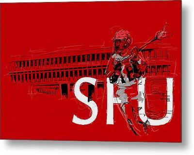 Sfu Art Metal Print by Catf