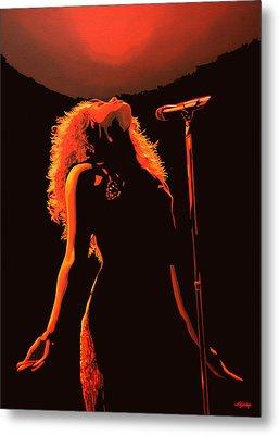 Shakira Metal Print by Paul Meijering
