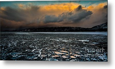 Shattered Metal Print by Mitch Shindelbower