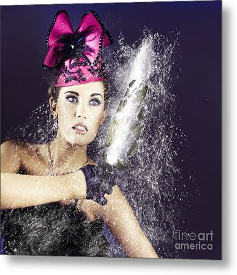 Smashing Party Metal Print by Jorgo Photography - Wall Art Gallery