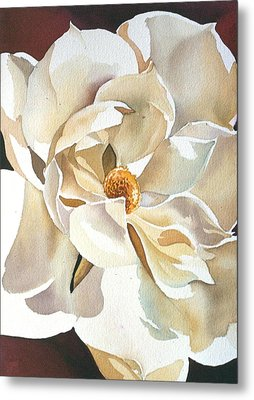 Southern Magnolia Metal Print by Alfred Ng