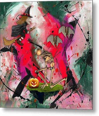 Spooky Metal Print by Marvin Blaine