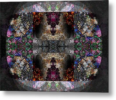 Stained Glass Metal Print by Christopher Gaston