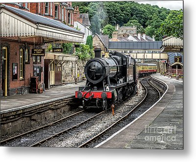 Steam Train Metal Print by Adrian Evans
