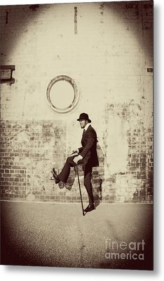 Stepping Into The Past Metal Print by Jorgo Photography - Wall Art Gallery