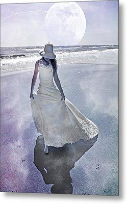 Strolling In Paradise Metal Print by Betsy C Knapp