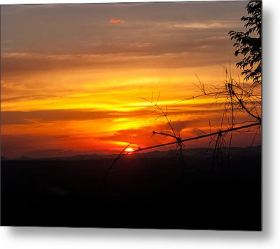 Sunset Metal Print by Nawarat Namphon