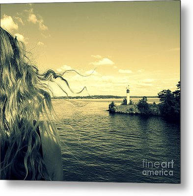 Sunshine Metal Print by France Laliberte