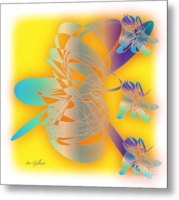Sunshine Metal Print by Iris Gelbart