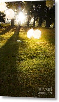 Tasmanian Countryside Landscape. Sun Shower Metal Print by Jorgo Photography - Wall Art Gallery