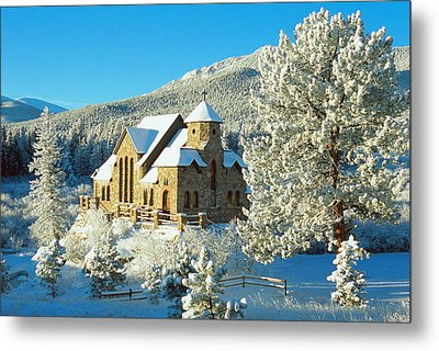 The Chapel On The Rock II Metal Print by Eric Glaser