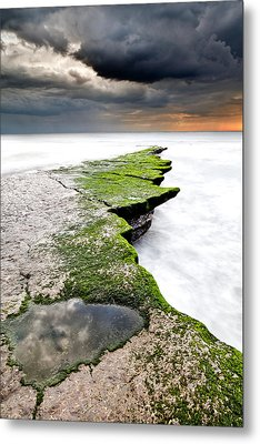The Green Path Metal Print by Jorge Maia