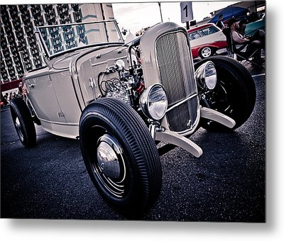 The Hot Rod Metal Print by Merrick Imagery