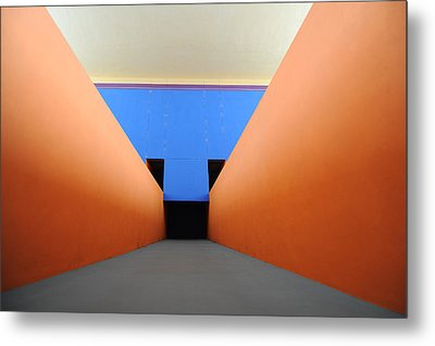 The Long Hall Metal Print by Ross Odom