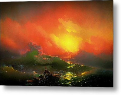 The Ninth Wave Metal Print by Mountain Dreams