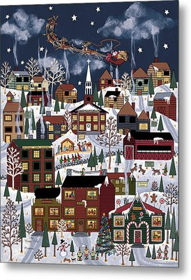 The North Pole Metal Print by Medana Gabbard