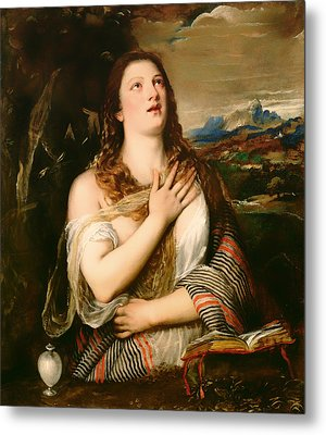 The Penitent Magdalene Metal Print by Mountain Dreams
