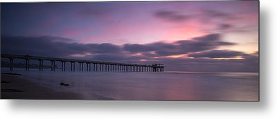 The Scripps Pier Metal Print by Peter Tellone