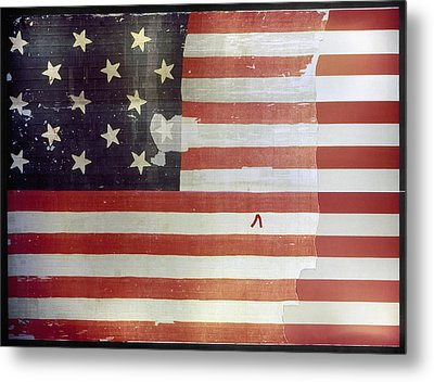 The Star Spangled Banner Metal Print by Granger