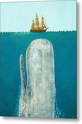 The Whale  Metal Print by Terry  Fan