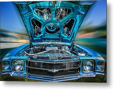 Time Warp Metal Print by Bill Wakeley