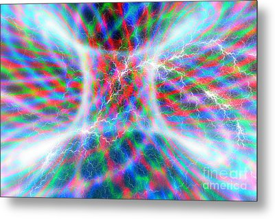 Torus Abstract Metal Print by Carol and Mike Werner