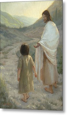 Trust In The Lord Metal Print by James L Johnson