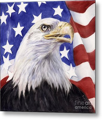 United We Stand? Metal Print by Summer Celeste