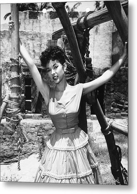 Untamed, Rita Moreno, 1955. Tm & Metal Print by Everett