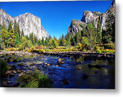 Valley View Yosemite National Park Metal Print by Scott McGuire